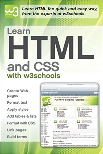 Learn HTML and CSS with w3Schools: W3Schools: 9780470611951: Amazon