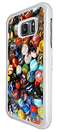 1024 - Cool Fun Cute Retro Marbles Cats Eyes Milky Way Games Nostalgia Design For Samsung Galaxy S7 Edge G935 Fashion Trend CASE Back COVER Plastic&Thin Metal - - Milky Eye Cat