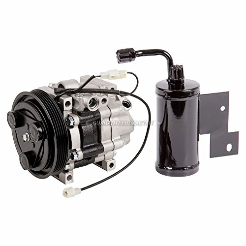 AC Compressor w/A/C Drier For 1997 Mazda 626 & MX-6 - BuyAutoParts 60-89665R2 New (626 Compressor Mazda A/c)