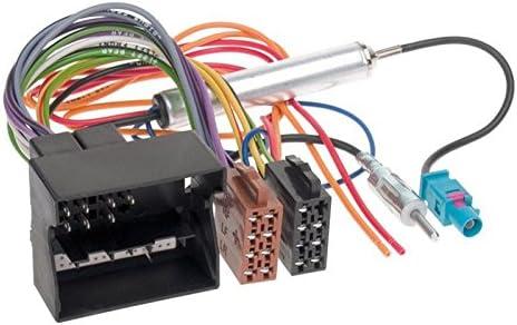 Carmedio Opel Corsa D 06-14 1-DIN Autoradio Einbauset in original Plug/&Play Qualit/ät mit Antennenadapter Radioanschlusskabel Zubeh/ör und Radioblende Einbaurahmen Hochglanz-schwarz