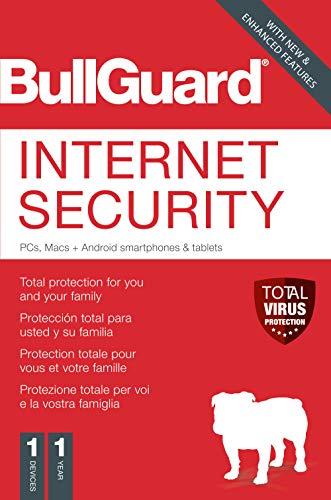 BullGuard Internet Security 2020 | meerdere apparaten | 1 apparate | 1 Jaar