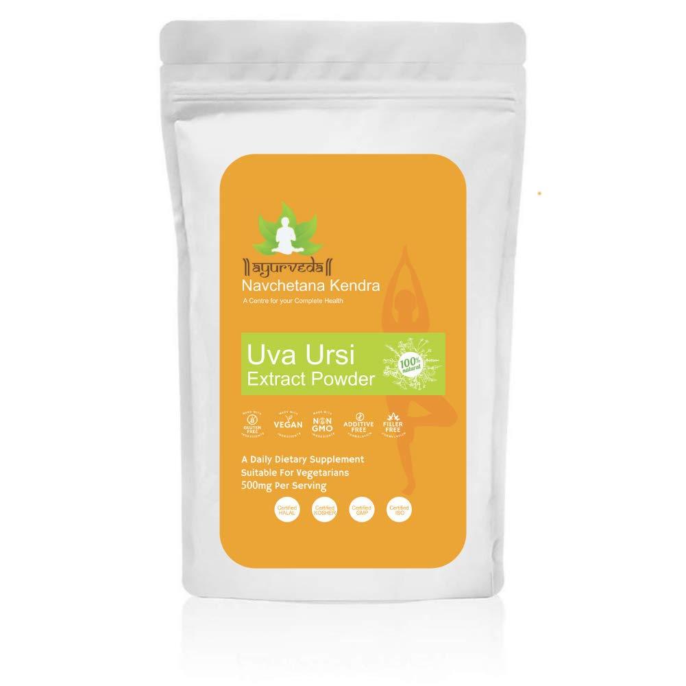 Uva Ursi Extract Powder (Bearberry) | Arctostaphylos uva-Ursi | 4:1 | Herbal Supplement(800 GM) by Navchetna Kendra