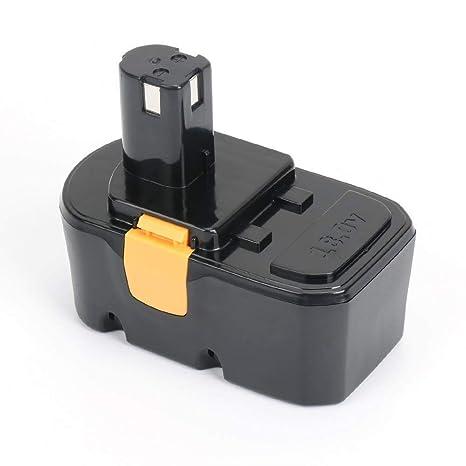 Replace Ryobi one plus 18v lithium battery for P100 P101 P102 P103 P122  P104 P105 P107 P108 P109 Cordless Tools 3000mAh High Capacity