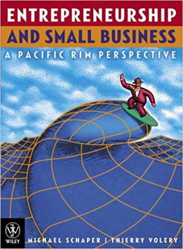 Book Entrepreneurship and Small Business: A Pacific Rim Perspective