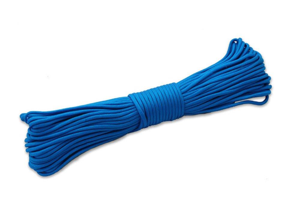 自然神100 ftパラコード550 Paracordパラシュートコードストラップロープ軍事仕様のアウトドアキャンプ軽量多目的550パラコード8色 ブルー B01CNKDRUE B01CNKDRUE ブルー ブルー ブルー, 国富町:df4c1f34 --- samudradata.com