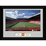 Football Gifts - Manchester United Fc Gift Ideas - Official Manchester United Fc Old Trafford Picture (16 X 12) - A Great Present For Football Fans