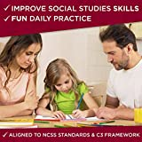 180 Days of Social Studies for Second Grade - Daily Practice Book to  Improve 2nd Grade Social Studies Skills - Social Studies Workbook for Kids  Ages 6