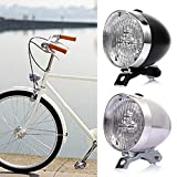 Leisuretime Retro Bike Headlight, 3 LED Bicycle