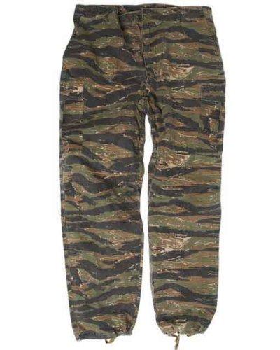 US Jungle Pantalons Vietnam Tigre Rayures - rayures tigre, l Mil-Tec