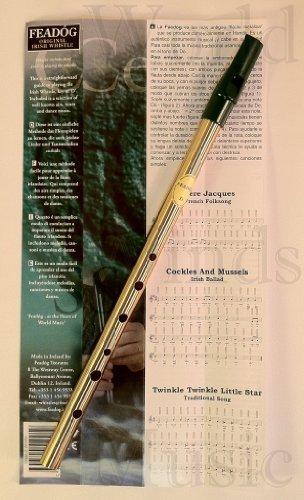 Feadog FW01 Irish Whistle Brass D