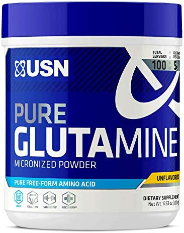 USN Pure Glutamine Micronized Powder, 500 Grams