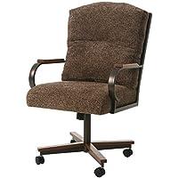 Impacterra QLCX1601903437 Caxton Caster Chair, Sienna Auburn