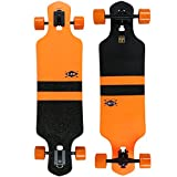 Globe Longboard Complete GEMINON FLUORO ORANGE/BLACK 9'' x 35''