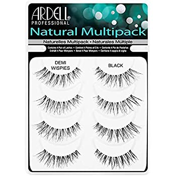 3da2be1e047 THE Best 4 Pairs Ardell Demi Wispies Natural Multipack False Eyelashes Fake  Eye Lashes
