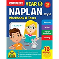 NAPLAN*-style Complete Year 5 Workbook and Tests (new cover)