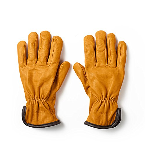 Filson Clothing: Men's Goat Skin Wool Lined Work Gloves 62022LTN - Tan - X Large by Filson (Image #1)