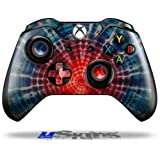 Tie Dye Bulls Eye 100 - Decal Style Skin fits Original Microsoft XBOX One Wireless Controller (CONTROLLER NOT INCLUDED) by uSkins