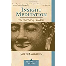 Insight Meditation: The Practice of Freedom