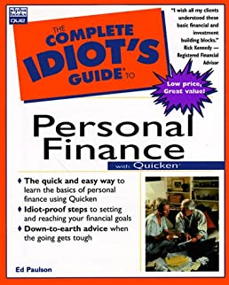 the complet idiot s guide to personal finance with quicken complete rh amazon com complete idiot's guide to personal finance Complete Guide Idiots Funny