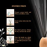 PEFSO 10 Inches Natural Rattan Reed Diffuser
