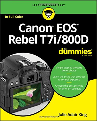 Price comparison product image Canon EOS Rebel T7i / 800D For Dummies (For Dummies (Computer / Tech))