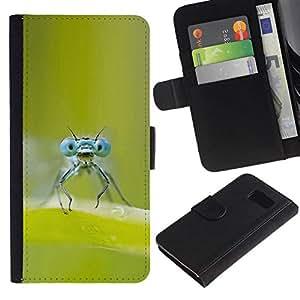 NEECELL GIFT forCITY // Billetera de cuero Caso Cubierta de protección Carcasa / Leather Wallet Case for Sony Xperia Z3 Compact // FALLOS OJOS