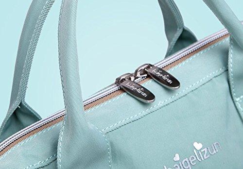 portatif maman pourpre bandoulière bébé wave sac pour Sac multifonctionnel main point à sac Blue sac mère sac à de Couleur lumière La SwXqd1q