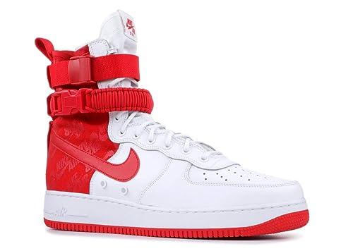 air force 1 hombre rojas y blancas