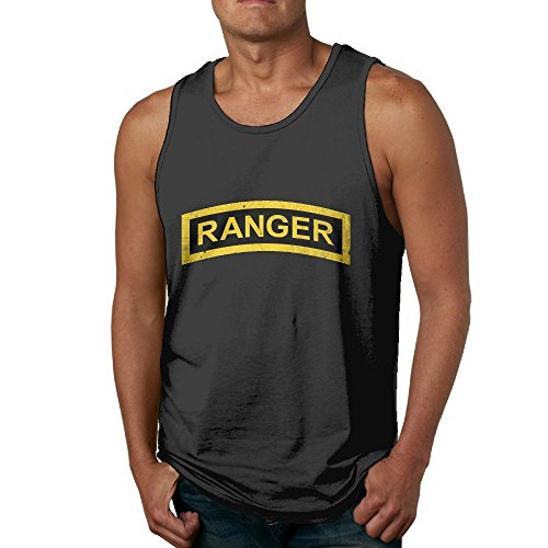 WPECE US Army Retro Ranger Tab Mens Tank Top T-Shirt