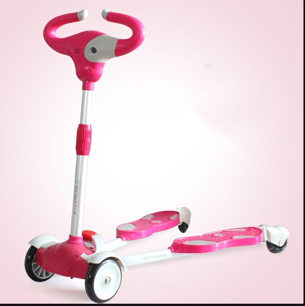 más vendido sheng Niños Accelerator Accelerator Accelerator Scooter Swing Pusher Pedal 2 Pedal 4 Rueda Antideslizante 2-7 años de edad Aplicable ( Color : Naranja )  Obtén lo ultimo