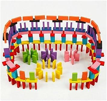 Ning store - Juego de Bloques de Madera para dominó (240 Piezas): Amazon.es: Juguetes y juegos