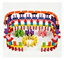 240pcs Kids Domino Rally建物キットGame Play Racing教育玩具子供by Zaray