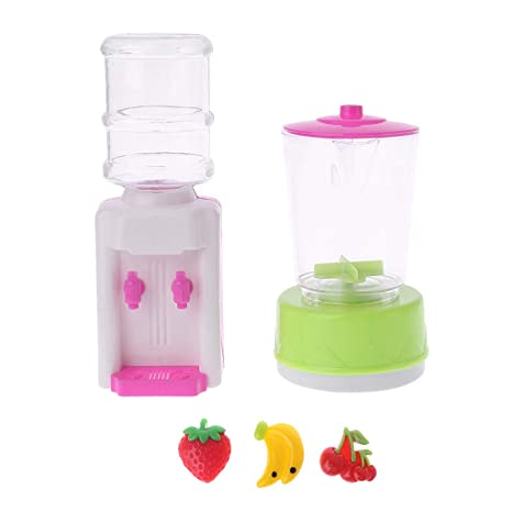 Keepart 1 juego de exprimidor de frutas, dispensador de agua, juguete para niños,