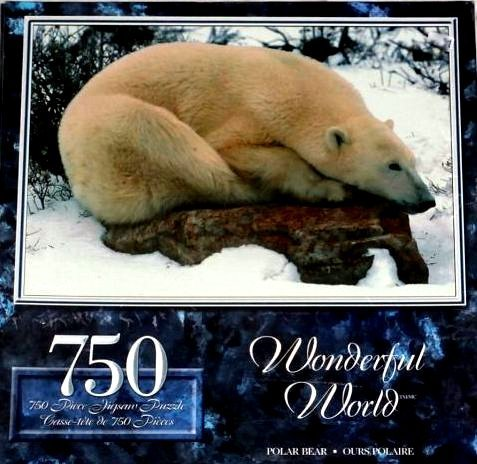 POLAR BEAR Wonderful World 750 Piece Puzzle by The Canadian Group