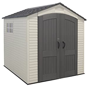 lifetime 7 x 7ft garden shed