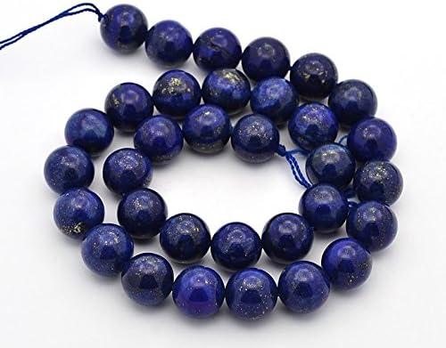 Lapislazuli 4,6,8,10,12mm Perlen zum Ketten auffädeln rund blau Lapis Lazuli