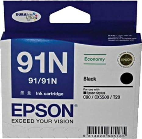 Epson 91N Black Ink Cartridge Amazonin Computers Accessories