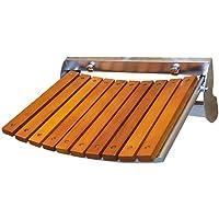 Shower Stool Wall-Mounted Shower Seats Stool for Elderly Anti-Slip Safe Bath Stool Shower Stool Stainless Steel Folding