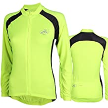 CC-UK Aerate Womens Cycling Jersey, High Visibility