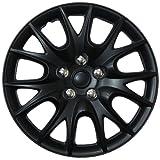 "Drive Accessories KT-950-15MBK, Chrysler Turisma, 15"" Matte Black Replica Wheel Cover, (Set of 4)"