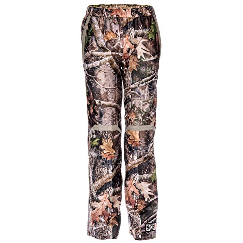 Hardshell Pants - Lucky Bums Koda Adventure Gear Youth True Timber Hardshell Packable Rain Pant, Kanati, M