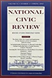 National Civic Review 2002 Set 9780787974619