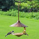 Colgando Al Aire Libre Comedero Para Pájaros Metal Automático Alimentación Perfecto Para Jardín Decoración Y Pájaro Buscando Al Amante De Las Aves. Cacoffay