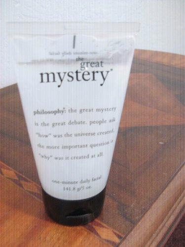 Philosophy the Great Mystery One-minute Daily Facial -