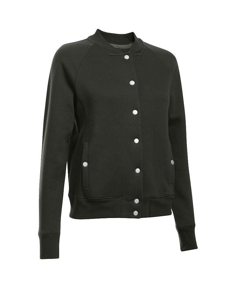 Under Armour Womens Varsity Fleece Bomber Jacket