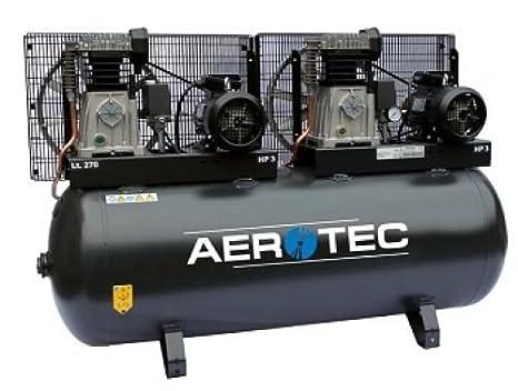 Tandem Compresor Taller Compresor De Aire Comprimido Compresor 2 x 600 de 270: Amazon.es: Bricolaje y herramientas