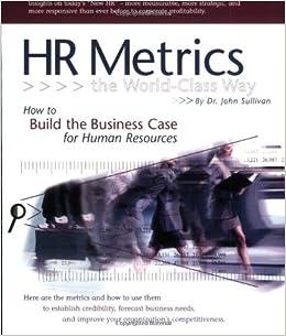 Book HR Metrics The World Class Way