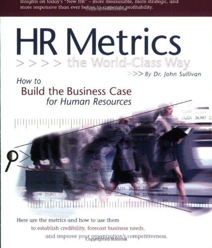 HR Metrics The World Class Way PDF