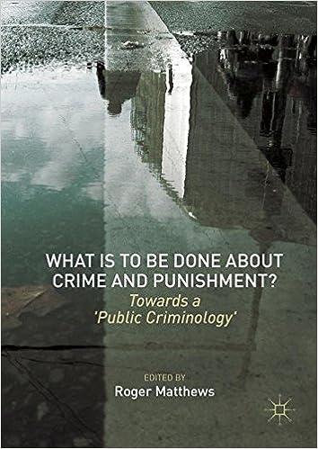 Como Descargar En Mejortorrent What Is To Be Done About Crime And Punishment?: Towards A 'public Criminology' De PDF