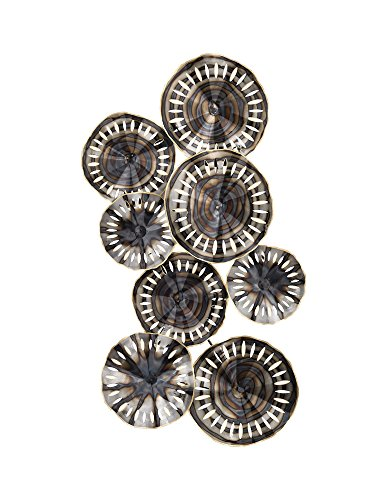 Sterling Home Decorative Novae Pierced Wall Decor In Bastille Silver